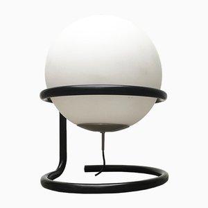 Lampada da terra Space Age vintage sferica
