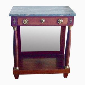 French Empire Style Mahogany Console Table, 1800s