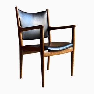 JH713 Dining Chairs by Hans J. Wegner for Johannes Hansen, 1957, Set of 6