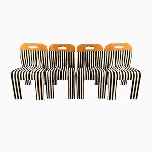 Dining Chairs by Gijs Bakker for Castelijn, 2012, Set of 4