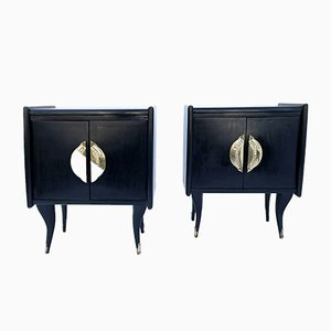 Bedside Cupboards, 1960s, Set of 2