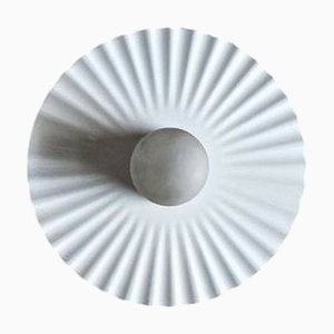 Large Pleated Sconce by Achille Castiglioni for Flos, 1985