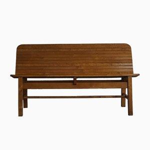 Mid-Century Swedish Wooden Bench