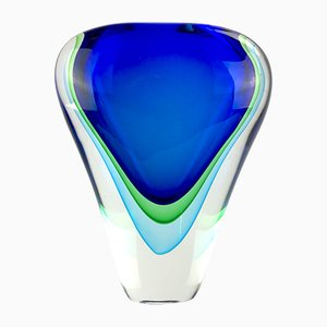 Abisso Sommerso Vase in Murano Glass by Valter Rossi for Vrm