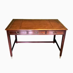 Vintage English Mahogany Writing Table