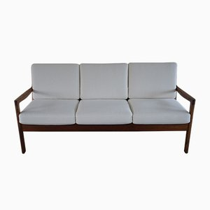 Rosewood 3-Seater Sofa by Ole Wanscher for France & Søn / France & Daverkosen, 1960s