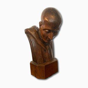 Busto in legno