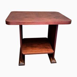 Art Deco Mahogany Side Table, 1920s