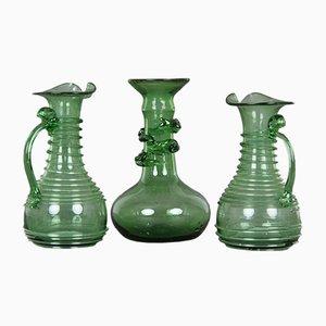 Dekorative Objekte von Kastrup Glasværk, 3er Set
