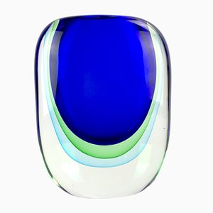 Antartico Sommerso Vase in Murano Glass by Valter Rossi for Vrm