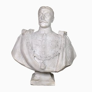 Marble Bust, Haakon Vii, Early 20th-Century