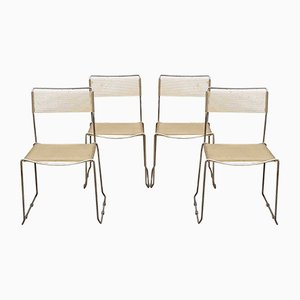 Spaghetti Chairs by Giandomenico Belotti for Alias, 1968, Italy, Set of 4