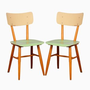 Dining Chairs from TON, 1960s, Set of 2