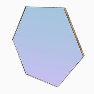 Vintage Hexagonal Mirror, 1970s