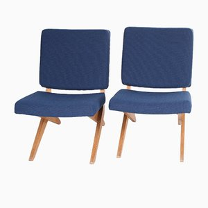 FB18 Scissor Lounge Chairs by Jan van Grunsven for Pastoe, 1960s, Set of 2