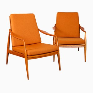 Czech Chairs from Uluv, 1960s, Set of 2