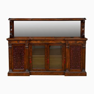 Large Victorian Rosewood Sideboard