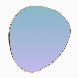 Vintage Oval Mirror, 1970s