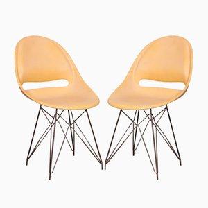 Esszimmerstühle von Miroslav Navratil für Vertex, 1950er, 2er Set