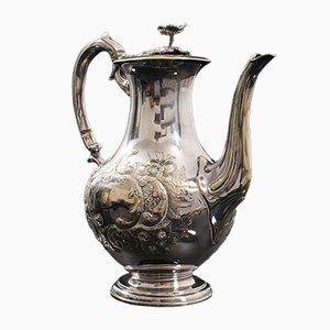 Antike Englische Dekorative Tee Urne