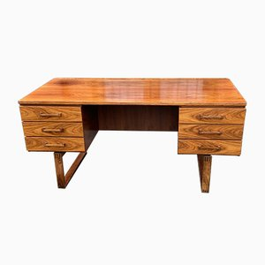 Rosewood Desk by Thorben Valeur and Henning Jensen, 1960s