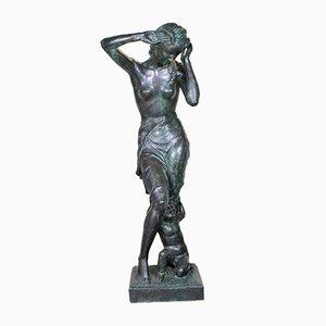 Riva, Große Bronze Skulptur, 20. Jahrhundert