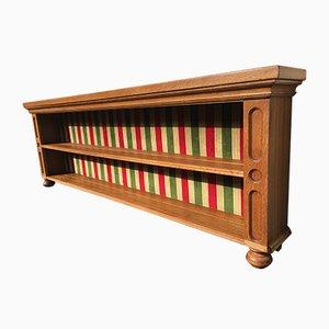 Niedriges offenes Bücherregal, 1970er