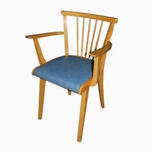 Mid-Century Light Blue Armchair, 1950s