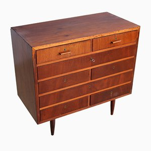 Wooden Chest of Drawers, 1960s