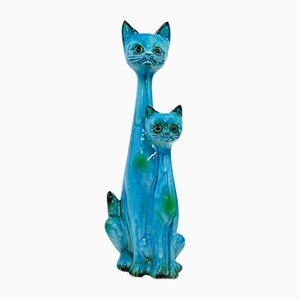 Dutch Porcelain Cats from Jema, 1950s