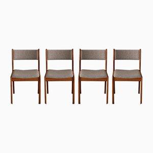 Esszimmerstühle von Findahls Mobelfabrik, 1960er, Set of 4