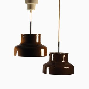 Plafonnier Bumling, Petite Version, par Anders Pehrson pour Ateljé Lyktan, 1970, Set de 2