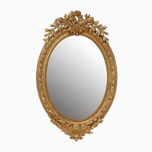French Gilt Wall Mirror, 1800s