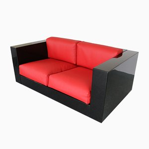 Mid-Century Sofa by Massimo and Lella Vignelli for Poltronova