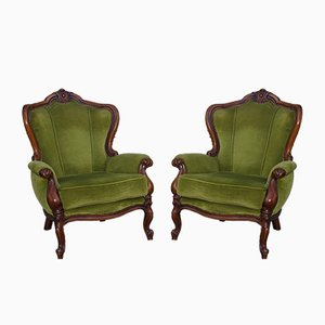 Louis Philippe Chairs, 1970s, Set of 2