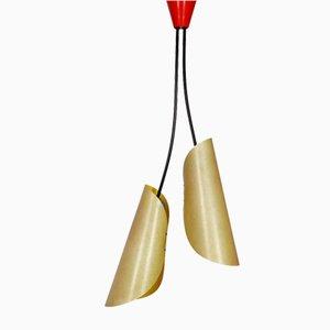 1209 Deckenlampe von Josef Hurka für Napako, 1960er