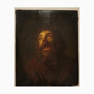 Gemälde eines Mannes, Öl auf Leinwand, spätes 18. Jahrhundert