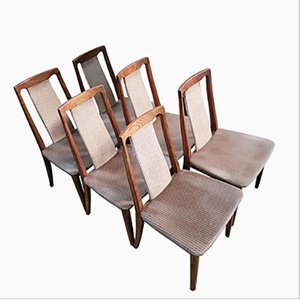 Vintage Dining Chairs by E.Gomme for G-Plan, Set of 6