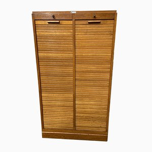 French Tambour Cabinet, 1940s