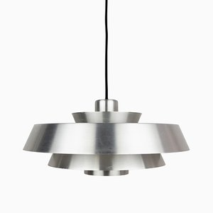 Mid-Century Danish Model Nova Pendant Lamp by Johannes Hammerborg for Fog & Mørup, 1960s