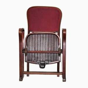 Antique Theatre Chair from Gebrüder Thonet Vienna GmbH