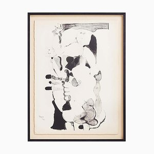 Lithographie par Paul Rebeyrolle