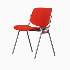 Mid-Century DSC106 Side Chair by Giancarlo Piretti for Castelli / Anonima Castelli