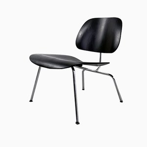 Black LCM Lounge Chair by Charles & Ray Eames for Vitra, 2000s