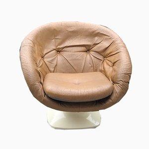 French Plastic Club Chair by Raphael Raffel, 1970s