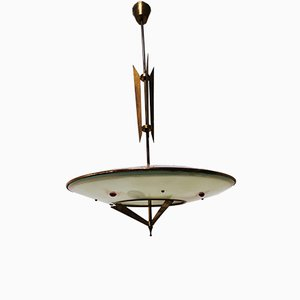 Mid-Century Ceiling Lamp from Arredo Luce