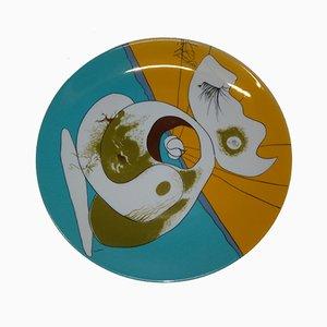 Assiettes en Porcelaine par Salvador Dali, Set de 3