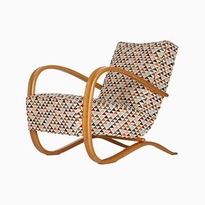 Art Deco Model H 269 Lounge Chair by Halabala for UP races, 1930s by Jindřich Halabala for UP Závody, 1930s