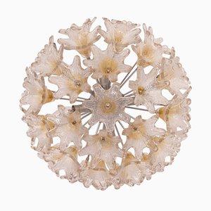 Deckenlampe aus Muranoglas von Toni Zuccheri für VeArt, 1970er