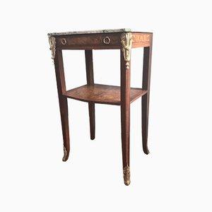 Table Console Selette en Acajou, Fin 1800s